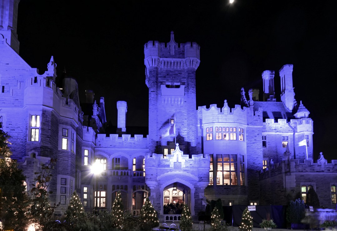 Christmas at Casa Loma in Toronto
