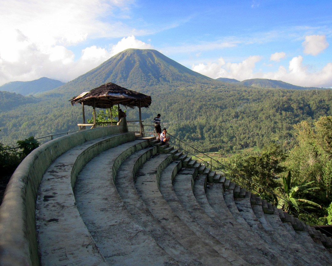 Outdoor amphitheatre in North Sulawesi