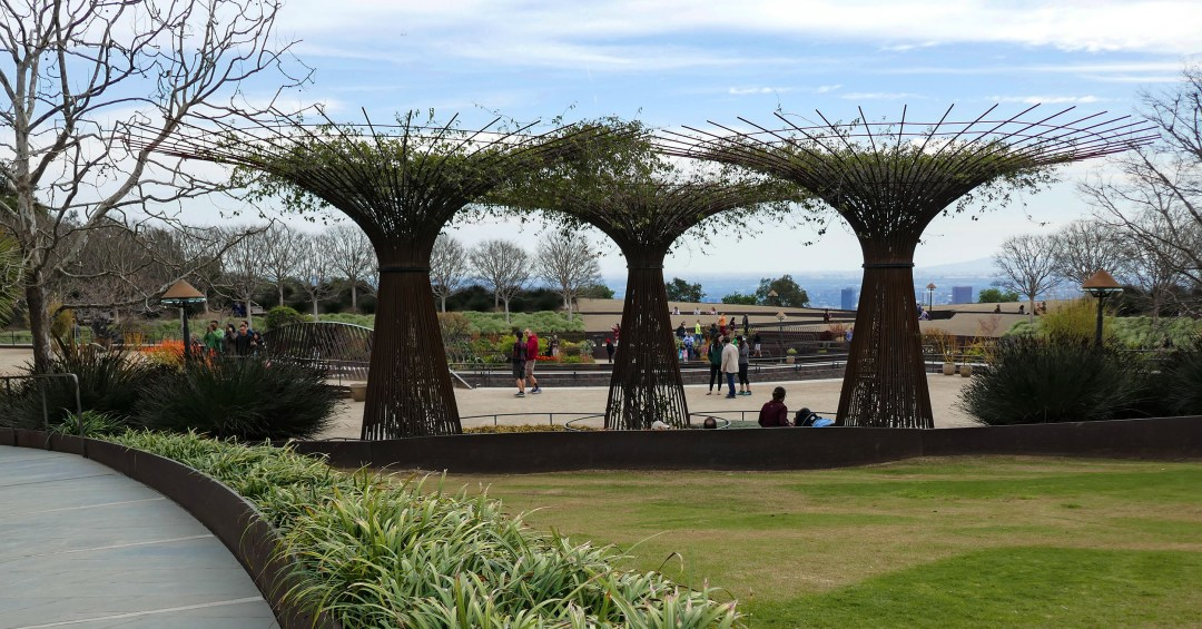 Getty Museum rebar trees for boomervoice