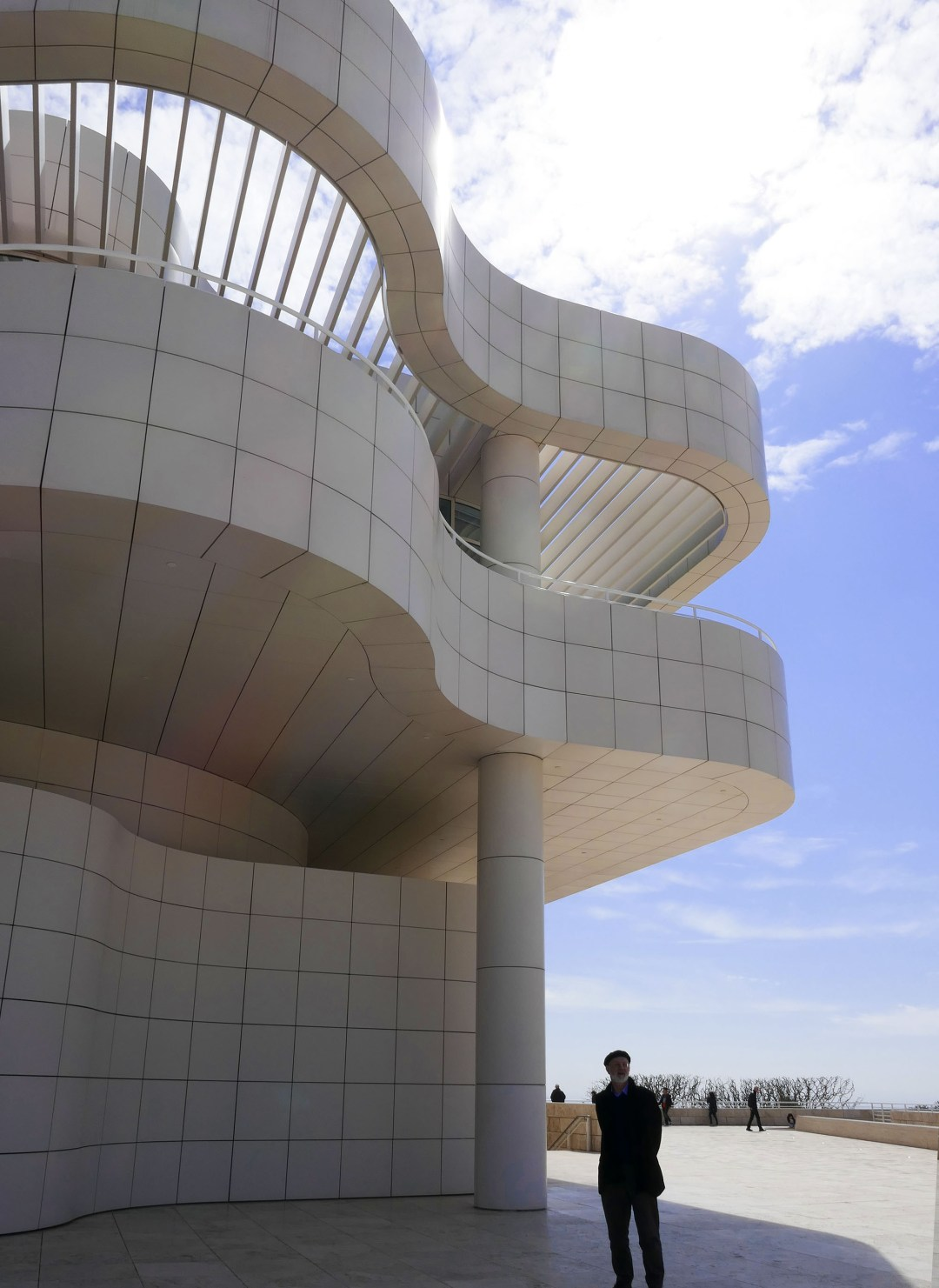Getty Musuem architecture for boomervoice