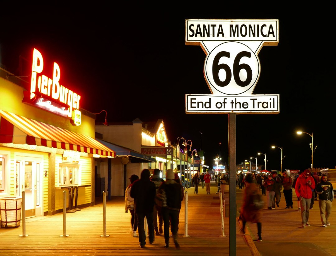 Route 66 End of the Trail for boomervoice