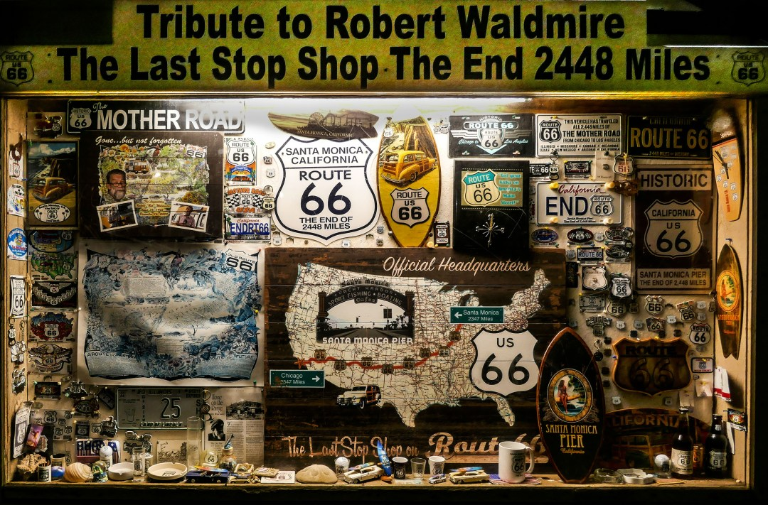 Route 66 tribute for boomervoice