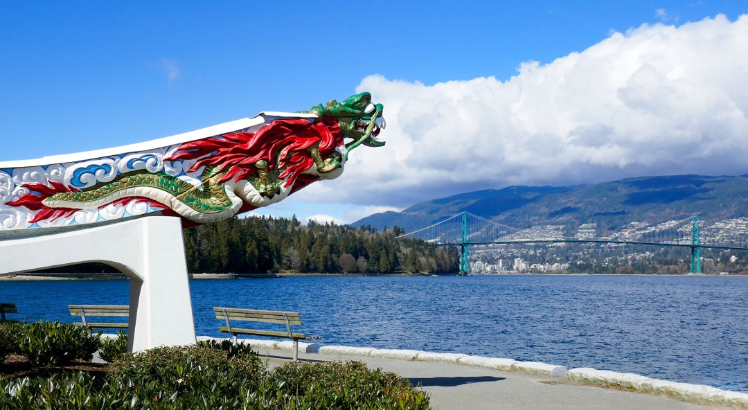 Empress of Japan figurehead in Stanley Park for boomervoice