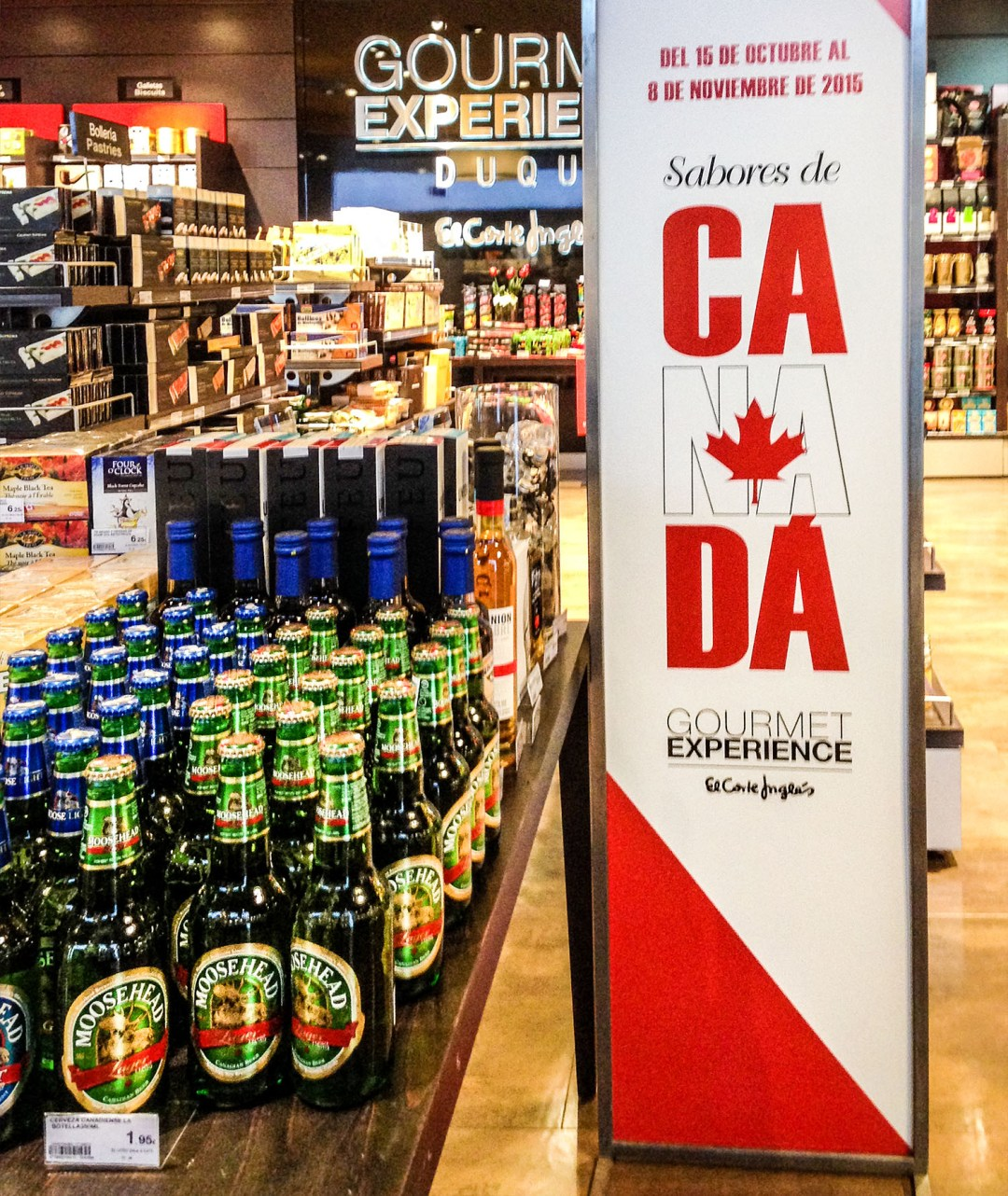 Canadian products in Spain for Canada 150 for boomervoice