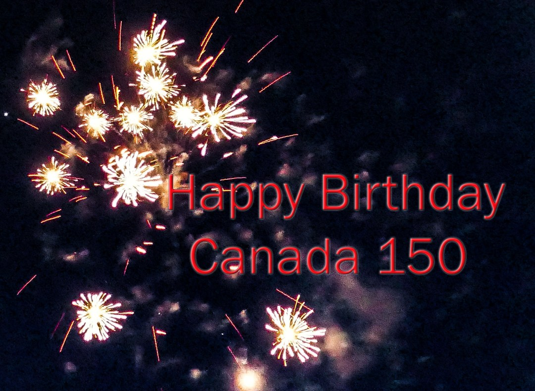 Happy Birthday Canada 150 for boomervoice