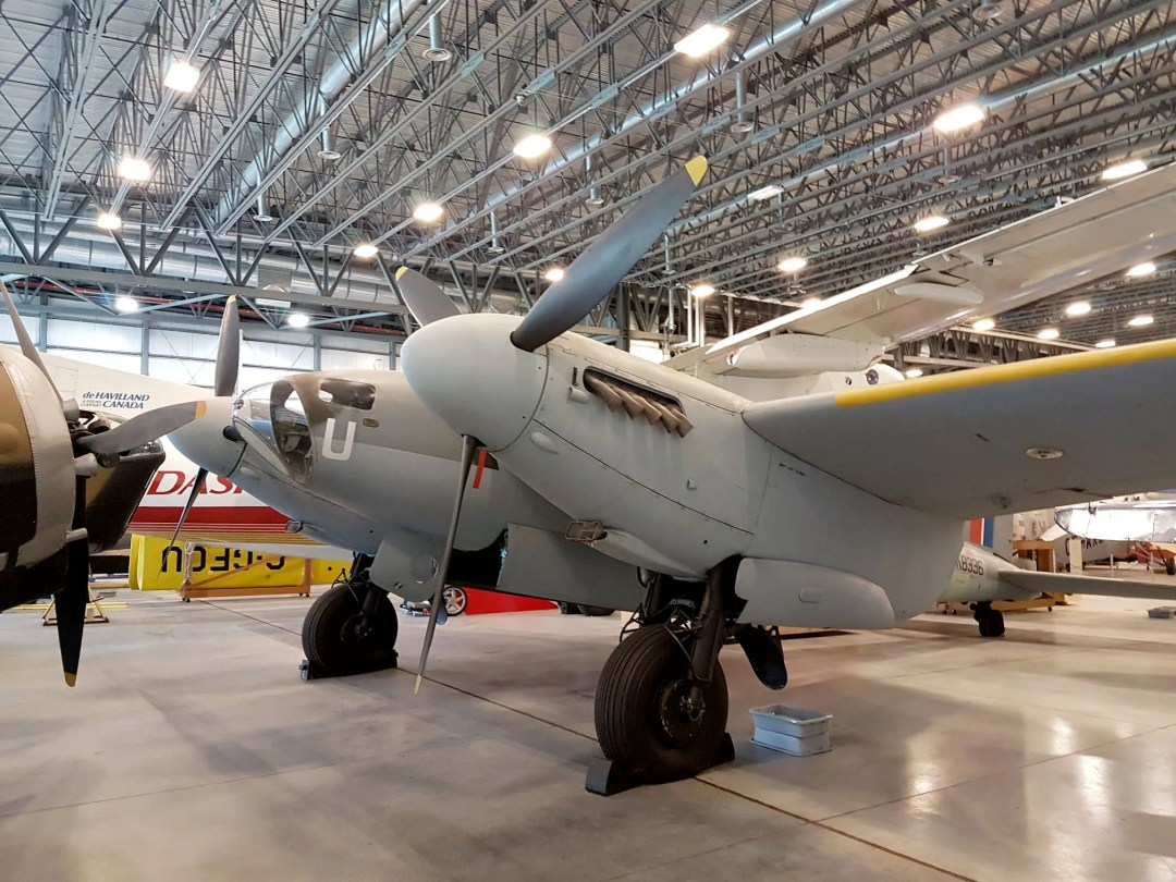 The de Havilland Mosquito was the fastest aircraft in the world