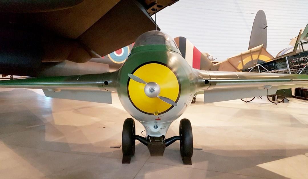 Messerschmitt Komet Propeller