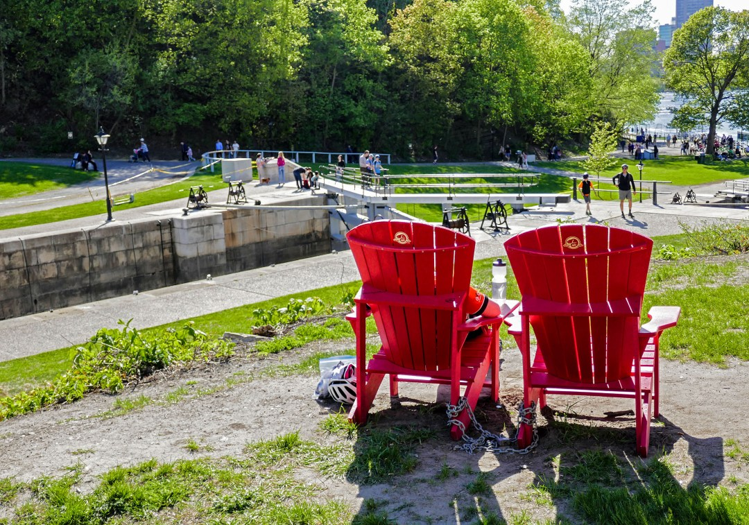 Parks Canada Red Chair Program at Rideau Canal National Historic Site for boomervoice