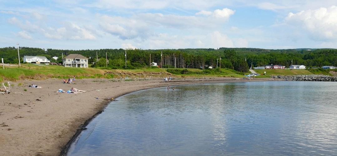 Arisaig beach for boomervoice
