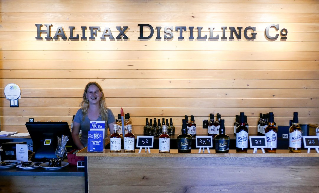 Halifax Distilling Co for boomervoice