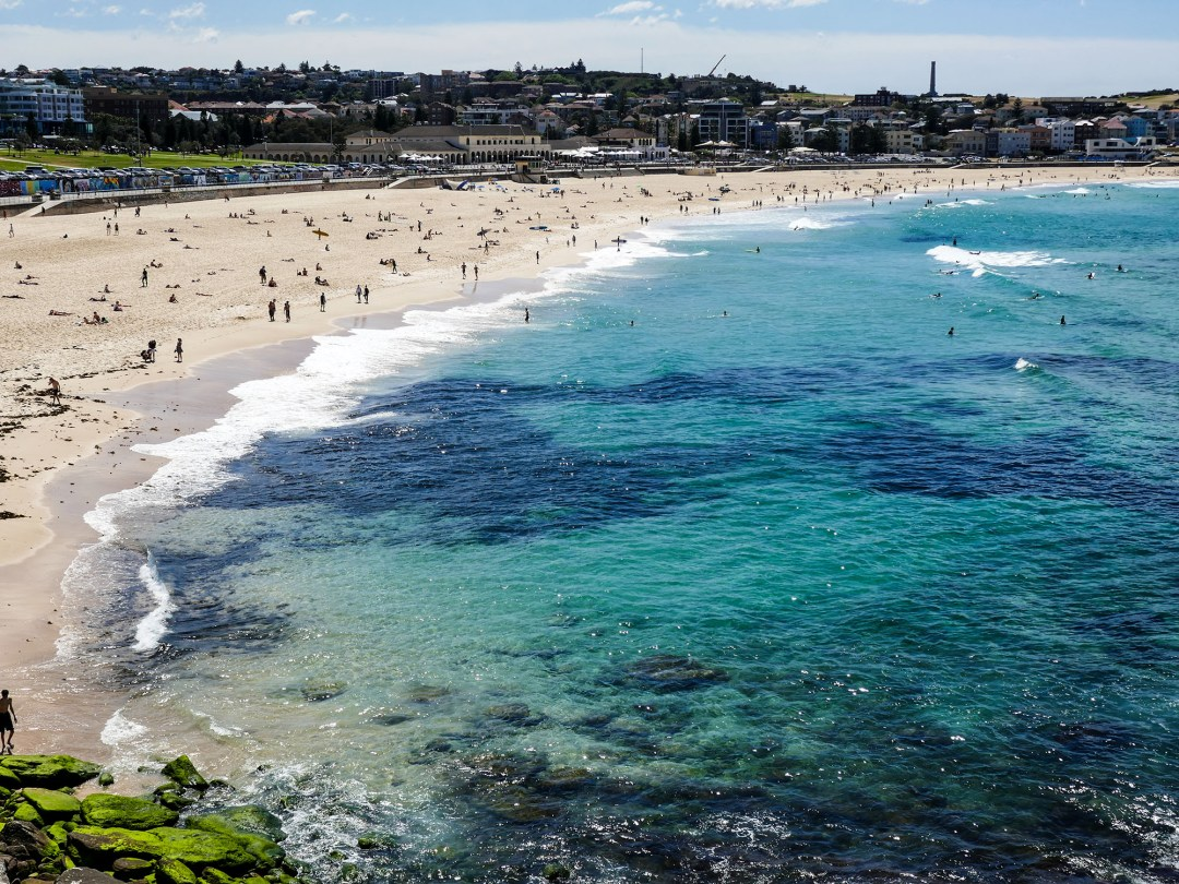 Bondi Beach on Coogee to Bondi walk for boomervoice