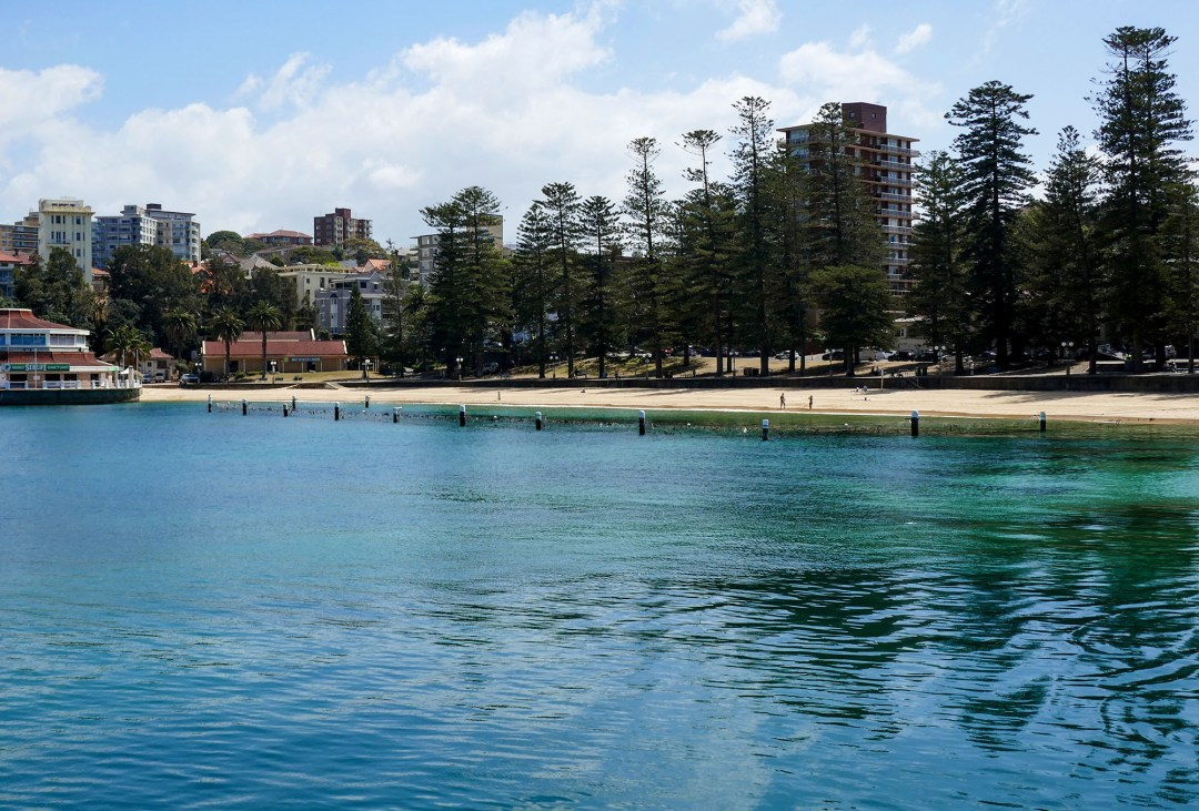 Manly ferry beach for boomervoice
