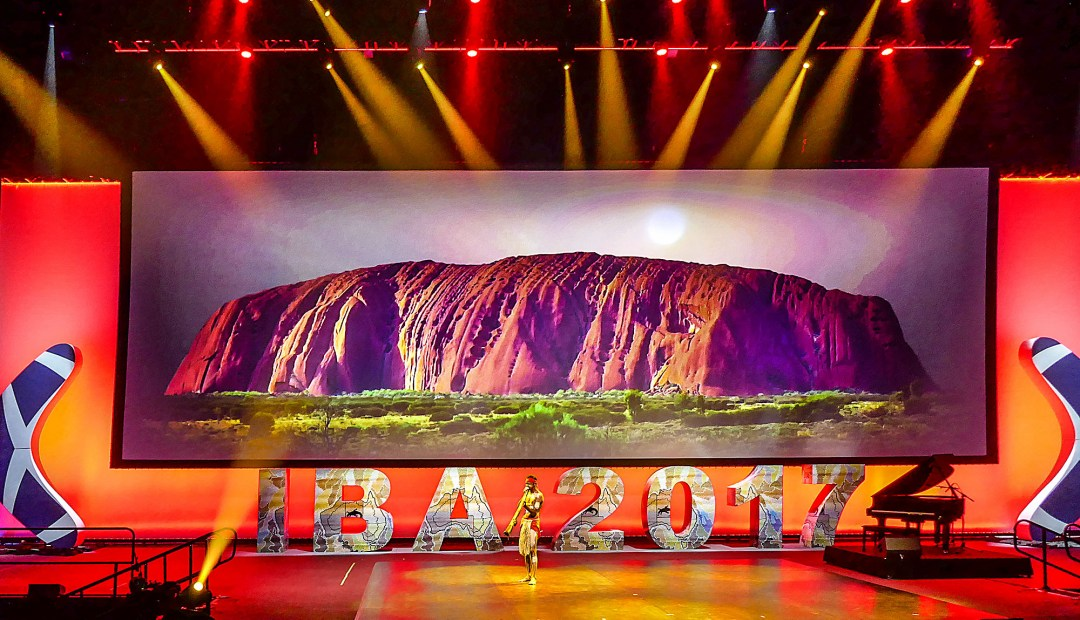 Ayers Rock at the International Bar Association annual conference in Sydney for boomervoice