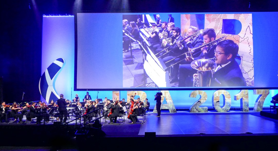 Sydney Lawyers' orchestra at the International Bar Association annual conference in Sydney for boomervoice.