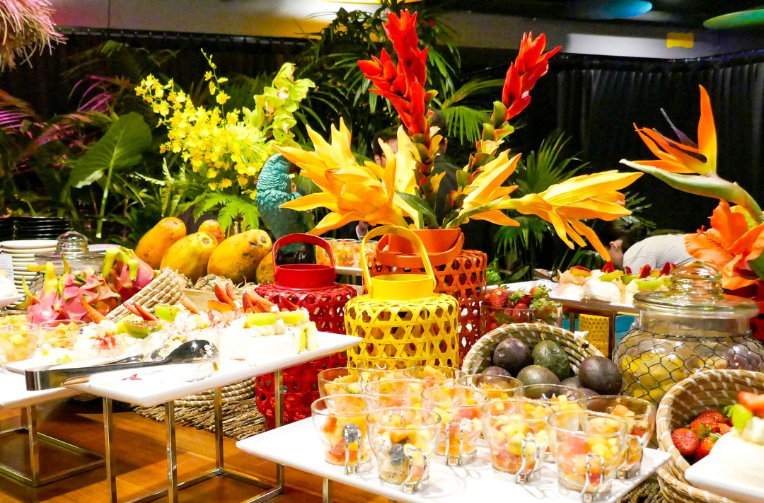 Tropical Queensland feast at the International Bar Association annual conference in Sydney for boomervoice