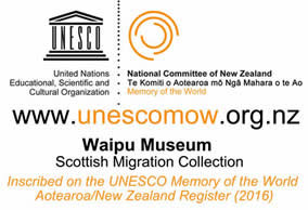 UNESCO Waipu Museum Scottish Migration Collection
