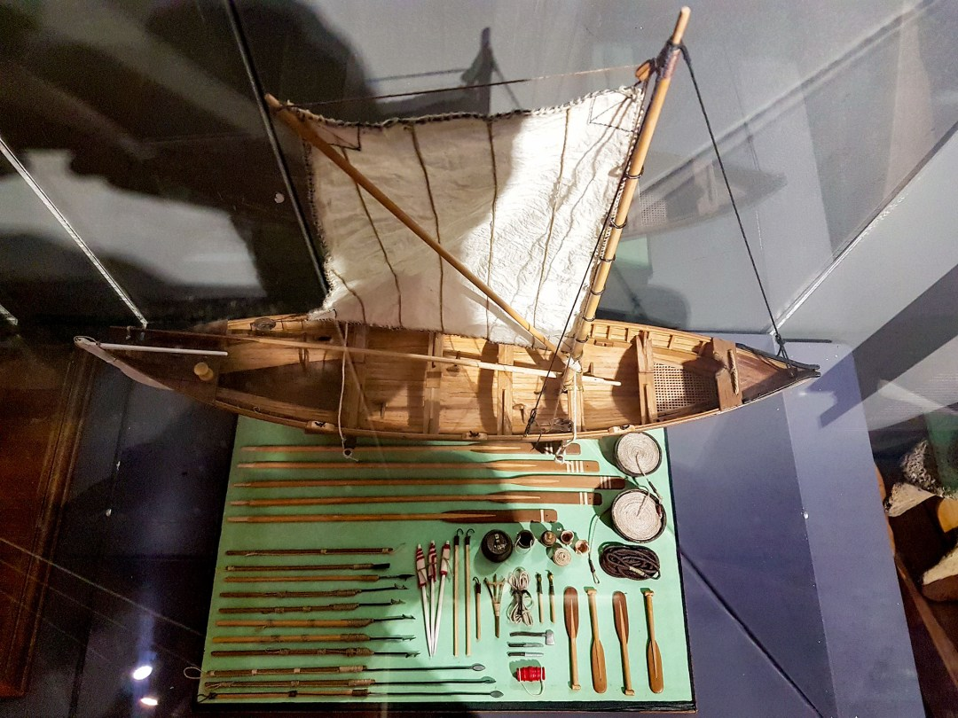 Whaling ship in Russell Museum for boomervoice