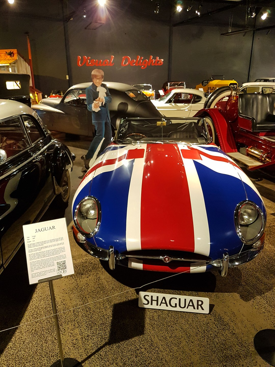 Shaguar front end at WOW Classic Cars for boomervoice