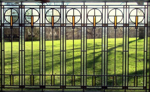 Medium Of Leaded Glass Windows