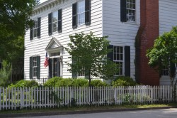 Small Of White Picket Fence House