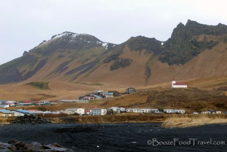 Most of the village of Vik