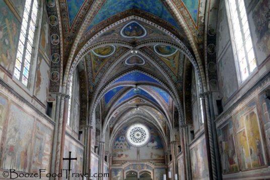 Interior of the Basilica of San Francesco
