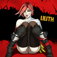 Lilith is shy enough to show her naked tits - better take a look at her pussy!