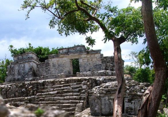 Ruins at Xcaret Park