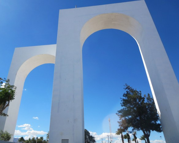These arches, the symbol of San Felipe, greet visitors at the north entrance of town.