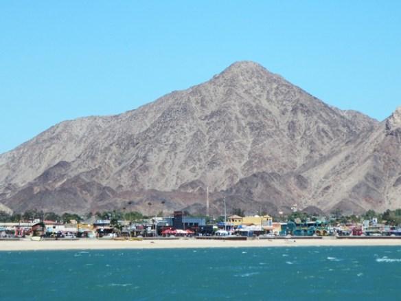 San Felipe as seen from the Sea of Cortez