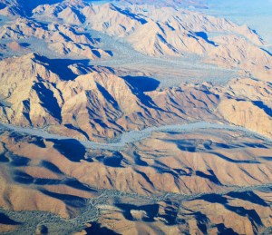 """Views of the """"hidden Baja"""" are breathtaking from the air."""
