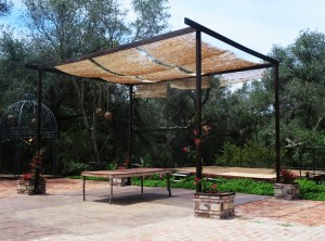 A stage and plaza area provide space for weddings and special events.