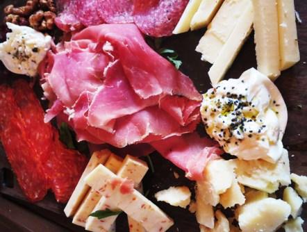Formaggio and Prosciutto Bar selections