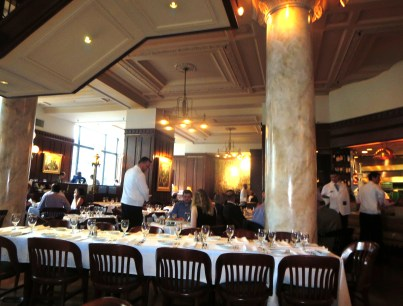 Grill 23 exudes grown-up gentility