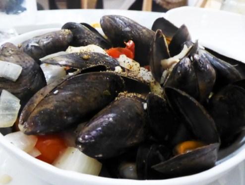 Mussels & Prosecco
