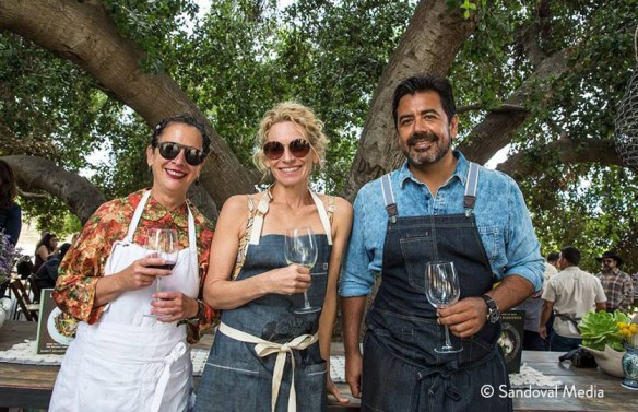 Nancy Silverton, Carolynn Carreno, Javier Plascencia