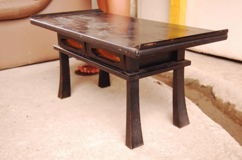 writing  (now coffee) table