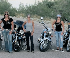 MOVE OVER SPA VACATIONS! MORE WOMEN BUYING MOTORCYCLES TO DE-STRESS