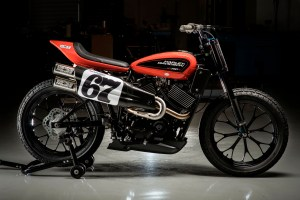 NEXT GENERATION, LIQUID-COOLED HARLEY-DAVIDSON XG750R FLAT TRACKER BREAKS COVER AT AMA PRO SPRINGFIELD MILE