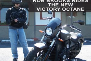 Rob Brooks Rides The New Victory Octane
