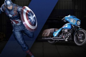 MARVEL AND HARLEY-DAVIDSON CREATE CUSTOM SUPERHERO MOTORCYCLES