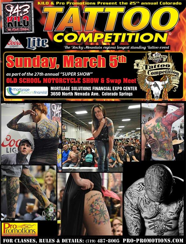 25th Annual Colorado Tattoo Competition