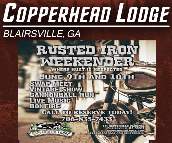Copperhead Lodge Rusted Iron Weekender