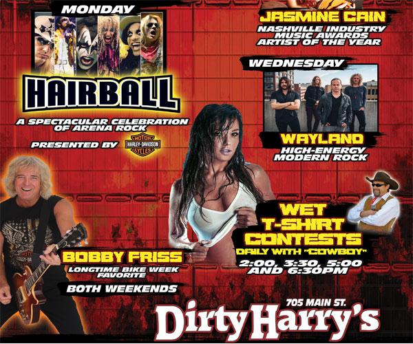 Dirty Harry's Bike Week Celebration