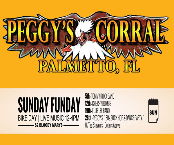 Peggy's Corral Sunday Fun Day