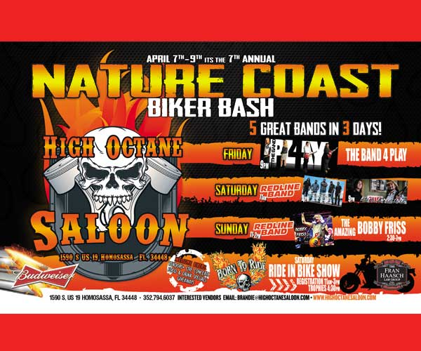 High Octane Nature Coast 7th Annual Biker Bash