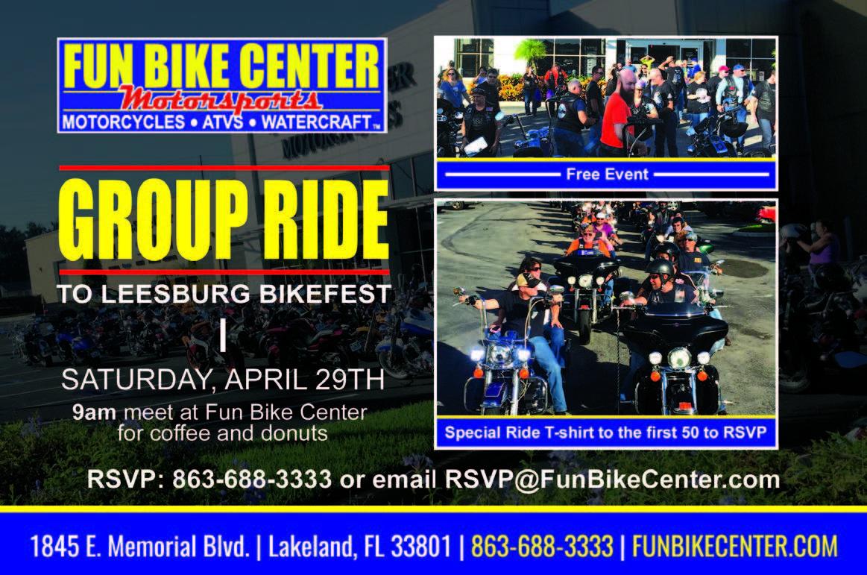 Fun Bike Center Leesburg Bikefest Group Ride