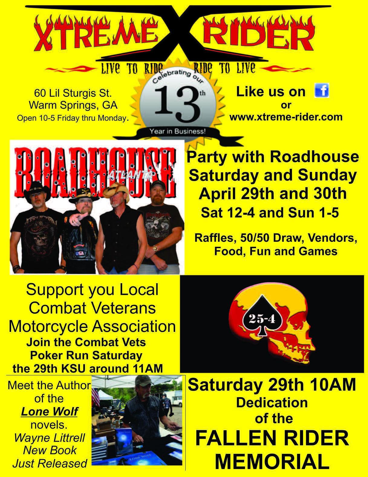 Xtreme Rider Anniversary Celebration