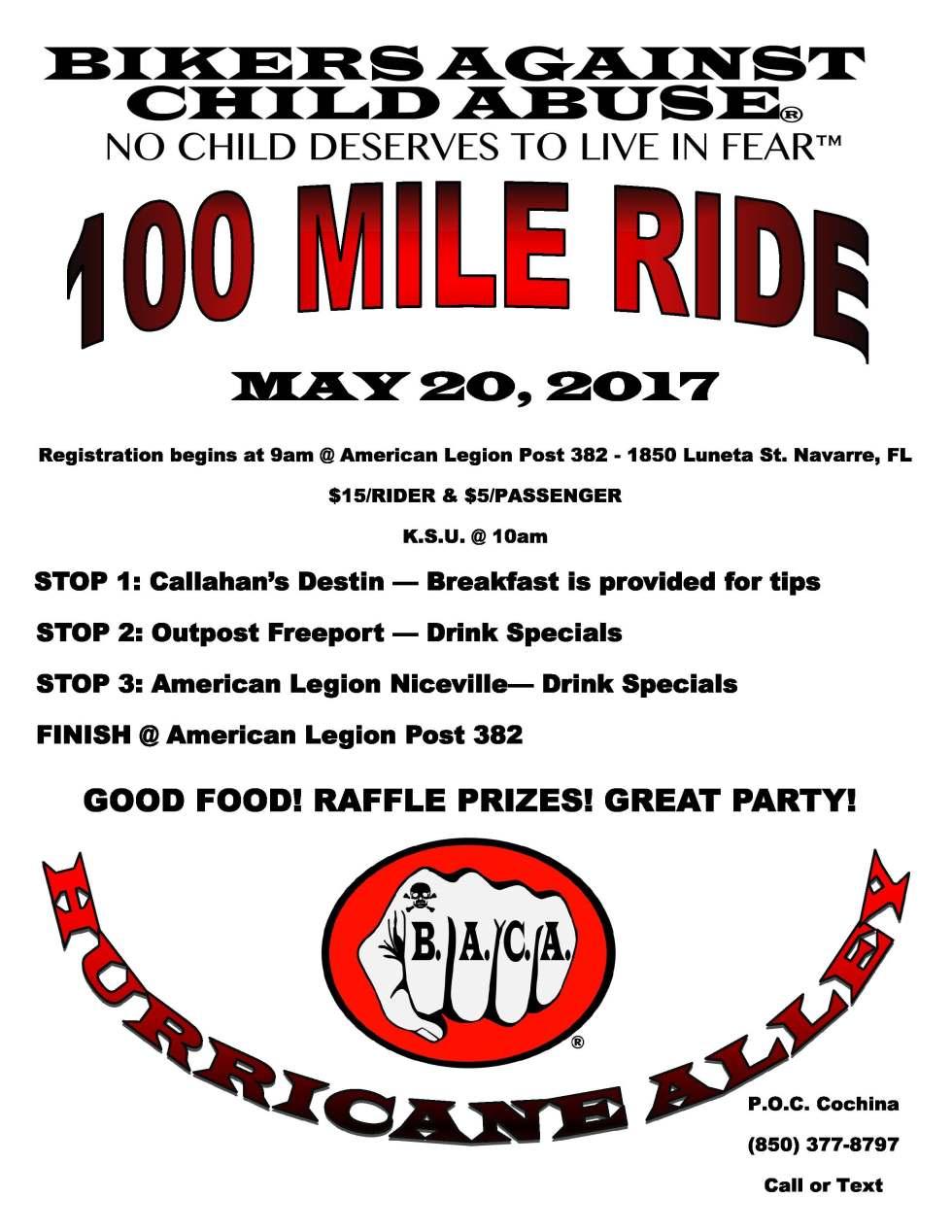 100 Mile Ride 2017