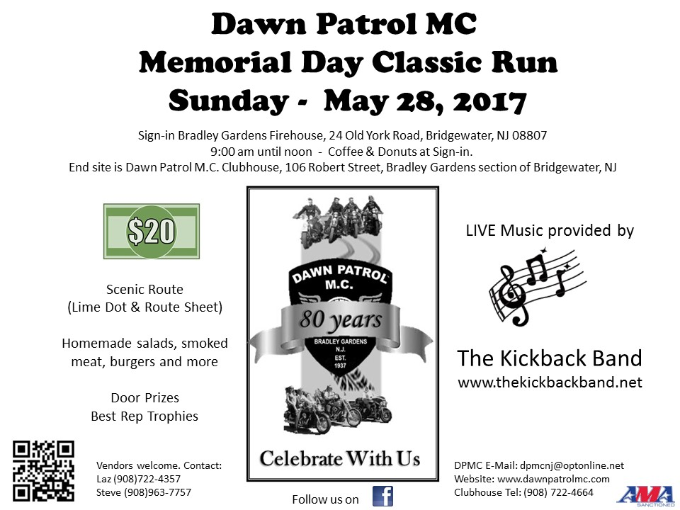 Memorial Day Weekend Run and Picnic